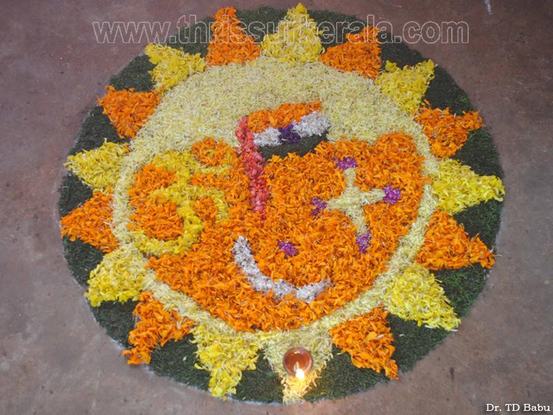 Pookalam, Pookalams, Pookkalam, Pookkalams, 2011, Thrissur ...